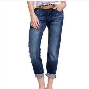 Lucky Brand Sienna Cigarette Boyfriend Denim Jeans